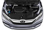 Car Stock 2020 Honda Odyssey EX-L 5 Door Minivan Engine  high angle detail view