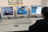 - ARPA, Regional Agency for Environmental Protection, operational meteorological room....- ARPA, Agenzia Regionale per la Protezione Ambientale, sala operativa metereologica
