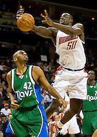 Charlotte Bobcats Emeka Okafor during an NBA basketball game Time Warner Cable Arena in Charlotte, NC.