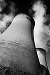 Pix: Shaun Flannery/shaunflanneryphotography.com...COPYRIGHT PICTURE>>SHAUN FLANNERY>01302-570814>>07778315553>>..16th April 2012.Drax Power Limited..Drax Power Station cooling towers..A large coal-fired power station in North Yorkshire, England, capable of co-firing biomass and petcoke.