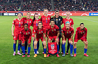 CARSON, CA - FEBRUARY 7: The USWNT poses for their starting XI photo during a game between Mexico and USWNT at Dignity Health Sports Park on February 7, 2020 in Carson, California.