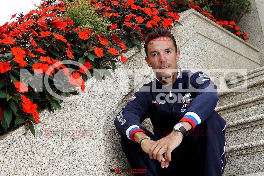 Joaquin Purito Rodriguez during the rest day of La Vuelta 2012.August 27,2012. (ALTERPHOTOS/Acero) /NortePhoto.com<br /> <br /> **CREDITO*OBLIGATORIO** <br /> *No*Venta*A*Terceros*<br /> *No*Sale*So*third*<br /> *** No*Se*Permite*Hacer*Archivo**<br /> *No*Sale*So*third*