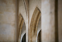Detail of the stonework inside Guildford Cathedral.