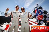 #6 Acura Team Penske Acura DPi, DPi: Juan Pablo Montoya, Dane Cameron celebration