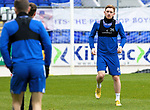 St Johnstone Training...14.05.21<br />Liam Craig pictured during training at McDiarmid Park this morning ahead of tomorrows final league game of the season against Livingston.<br />Picture by Graeme Hart.<br />Copyright Perthshire Picture Agency<br />Tel: 01738 623350  Mobile: 07990 594431