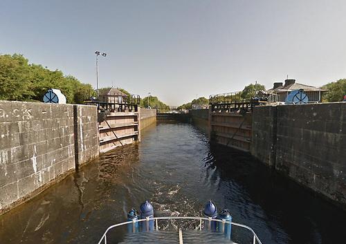 Victoria Lock at Meelick