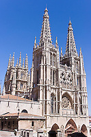 Catedral, 1221-61, towers 15th C, Burgos, Spain