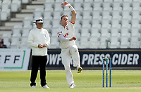 Peter Siddle of Essex in bowling action during Nottinghamshire CCC vs Essex CCC, LV Insurance County Championship Group 1 Cricket at Trent Bridge on 6th May 2021