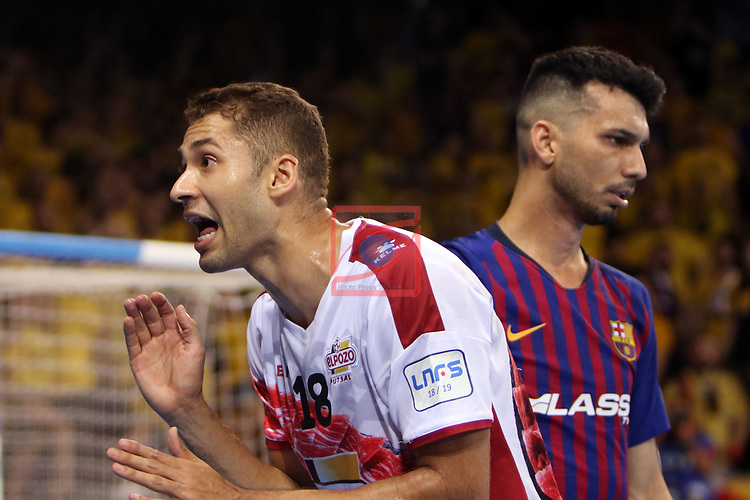 League LNFS 2018/2019.<br /> Play Off. Game: 5.<br /> FC Barcelona Lassa vs El Pozo Murcia: 3-2.<br /> Pito.