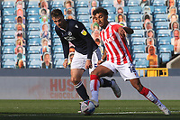 Jacob Brown of Stoke City in action during Millwall vs Stoke City, Sky Bet EFL Championship Football at The Den on 12th September 2020