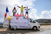 Allez Les Français!<br /> <br /> 107th Tour de France 2020 (2.UWT)<br /> (the 'postponed edition' held in september)<br /> Stage 3 from Nice to Sisteron 198km<br /> ©kramon