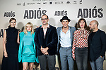 Ruth Diaz, Natalia de Molina, Vicente Romero<br /> Mona Martinez and Paco Cabezas in the press junction of 'ADIOS', the new work of director Paco Cabezas, which has an undisputed and recognized cast headed by Mario Casas, the two-time winner of Goya Natalia de Molina, and Goya nominees Ruth Diaz and Carlos Bardem.<br /> November 15, 2019. <br /> (ALTERPHOTOS/David Jar)