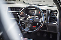 BNPS.co.uk (01202) 558833. <br /> Pic: TheMarket/BNPS<br /> <br /> Pictured: Mint condition interior. <br /> <br /> Oh Boy, what a racer...<br /> <br /> A classic Ford Sierra Cosworth which has been described as 'the most original in existence' has sold at auction for £60,000.<br /> <br /> The 1987 RS model remains in pristine condition, having covered just 30,000 miles, and is among the best 'Fast Fords' on the roads today<br /> <br /> Owned by an esteemed Ford collector, it has spent the last 12 years in storage to ensure it looks as fresh as the day it left the factory.