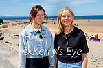 Enjoying the beach in Ballybunion on Sunday, l to r: Lauren and Trish Sheehan