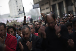 "© Remi OCHLIK/IP3 -  Cairo on february 01 - Cairo -- Organisers called it Egypt's ""million man march"". Whether they achieved that targeted head count is unclear, but their message was unequivocal...""Mubarak get out!"" protesters chanted...Tuesday's rally in downtown Cairo was the largest anti-government demonstration in modern Egyptian history, drawing the full spectrum of Egyptian society. Wave after wave of men, women and children poured into the central square from morning until well after the government's 3pm curfew...It was the eighth consecutive day of protests calling for Egyptian President Hosni Mubarak to step down. Earlier this week the 83-year-old dictator, who has ruled Egypt for 30 years, appointed a vice-president and changed his cabinet to appease the public's growing anger. Protesters say he has missed the point entirely."