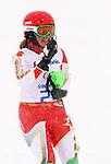 Alexandra Starker, Sochi 2014 - Para Alpine Skiing // Para-ski alpin.<br /> Alexandra Starker competes in the women's slalom standing event // Alexandra Starker participe au slalom debout féminin. 12/03/2014.