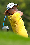 CHON BURI, THAILAND - FEBRUARY 19:  In Kyung Kim of South Korea tees off on the 3rd hole during day three of the LPGA Thailand at Siam Country Club on February 19, 2011 in Chon Buri, Thailand. Photo by Victor Fraile / The Power of Sport Images