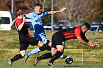 NELSON, NEW ZEALAND - JUNE 30: SFL - Nelson Suburbs v Western. Saxton Field, Nelson. 30 June 2019 in Nelson, New Zealand. (Photo by Chris Symes/Shuttersport Limited)