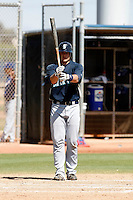 Adam Moore -  Seattle Mariners - 2009 spring training.Photo by:  Bill Mitchell/Four Seam Images