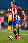 Filipe Luis of Atletico de Madrid in action during the La Liga match between Atletico de Madrid and RCD Espanyol at the Vicente Calderón Stadium on 03 November 2016 in Madrid, Spain. Photo by Diego Gonzalez Souto / Power Sport Images