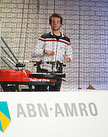 19-01-13, Tennis, Rotterdam, Wildcard for qualification ABNAMROWTT, Stringer