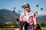 ARCADIA, CA -APRIL 08: Jockey, Kent desormeaux  at Santa Anita Park on April 08, 2017 in Arcadia, California. (Photo by Alex Evers/Eclipse Sportswire/Getty Images)