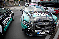 BORA-hansgrohe teamcar proving that tape is the answer to almost any problem...<br /> <br /> 104th Giro d'Italia 2021 (2.UWT)<br /> Stage 21 (final ITT) from Senago to Milan (30.3km)<br /> <br /> ©kramon