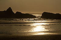 Sunset at Kalaloch Beach 4, Olympic Peninsula, Washington, US