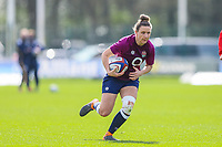 Sarah McKenna of England before the Guinness Six Nations match between England Women and Scotland Women at Castle Park Stadium, Doncaster, England on 3 April 2021. Photo by Thomas Gadd / PRiME Media Images.
