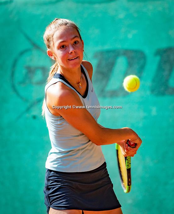 Hilversum, Netherlands, August 6, 2018, National Junior Championships, NJK, Floor Lissone (NED)<br /> Photo: Tennisimages/Henk Koster