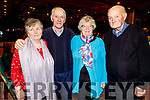 Mary O'Halloran, Pat Nash, Phylis McLoughlin and Jermiah Greaney from Tralee enjoying the Irish Red Cross Tralee Branch Christmas Tea Party in the Grand Hotel on Sunday afternoon.