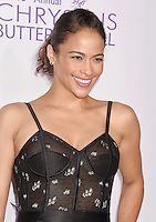 BRENTWOOD, CA - JUNE 11: Actress Paula Patton arrives at the 15th Annual Chrysalis Butterfly Ball at a private residence on June 11, 2016 in Brentwood, California.