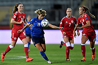 Valentina Giacinti of Italy in action during the Women s EURO 2022 qualifying football match between Italy and Denmark at stadio Carlo Castellani in Empoli (Italy), October, 27th, 2020. Photo Andrea Staccioli / Insidefoto