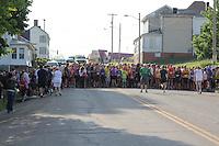2013 Rails-to-Trails 5K Run/Walk & Tunnel Fun Run for Kids, Barnesville, Ohio May 18, 2013.