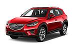 2016 Mazda CX-5 Grand-Touring-auto 5 Door SUV Angular Front stock photos of front three quarter view