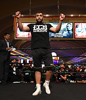 LAS VEGAS - JULY 17: Ali Eren Demirezen attends the media workout for the PBC on Fox Sports Pay-Per-View at the MGM Grand on July 17, 2019 in Las Vegas, Nevada. (Photo by Frank Micelotta/Fox Sports/PictureGroup)