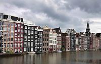 Nederland - Amsterdam - Juli 2020.  Grachtenpanden in het centrum.   Foto ANP / Hollandse Hoogte / Berlinda van Dam
