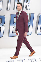 """Zachary Quinto<br /> arrives for the """"Star Trek Beyond"""" premiere at the Empire Leicester Square, London.<br /> <br /> <br /> ©Ash Knotek  D3140  12/07/2016"""