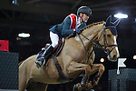 Simon Dekestre during the HKJC Race of the Riders during the Longines Masters of Hong Kong on 19 February 2016 at the Asia World Expo in Hong Kong, China. Photo by Victor Fraile / Power Sport Images