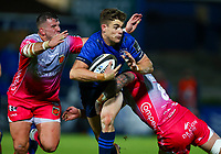 2nd October 2020; RDS Arena, Dublin, Leinster, Ireland; Guinness Pro 14 Rugby, Leinster versus Dragons; Garry Ringrose (Leinster) attempts to get through the Dragons defence