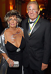 """Johnnye Schaper and Gordon Cridland at the San Luis Salute to """"The Italian Riviera"""" at the Galveston Island Convention Center at the San Luis Friday  Feb. 20, 2009.(Dave Rossman/For the Chronicle)"""