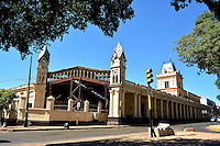 ASUNCION - PARAGUAY: Estación del Tren Carlos Antonio López en Asuncion, Paraguay Train Station Carlos Antonio López in Asuncion, Paraguay. (Photo:  VizzorImage / Cont.)...........