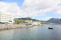 Hafen von Roseau auf Dominica