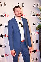 Dimitri Leonidas - RED CARPET POUR L'OUVERTURE DU MIPTV 2017 A L'HOTEL MARTINEZ - CANNES, FRANCE - LUNDI 3 AVRIL 2017.
