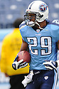 CHRIS BROWN, of the Tennessee Titans  in action during the Titans game against the Houston Titans on December 2, 2007 in Nashville, Tennessee...TITANS  win 28-20..SportPics
