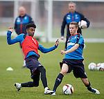 Gedion Zelalem and Liam Burt