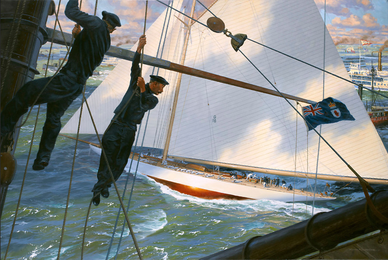 Great Yachts: The Marine Paintings of Russ Kramer