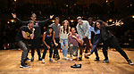 "from the 'Hamilton' cast during a Q & A before The Rockefeller Foundation and The Gilder Lehrman Institute of American History sponsored High School student #EduHam matinee performance of ""Hamilton"" at the Richard Rodgers Theatre on June 6, 2018 in New York City."