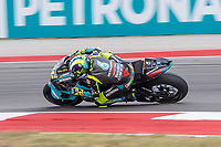 2nd October 2021; Austin, Texas, USA;  Valentino Rossi (46) - (ITA) riding a Yamaha for the Petronas Yamaha SRT Team at turn 19 during Free Practise 3 at the MotoGP Red Bull Grand Prix of the Americas held October 2, 2021 at the Circuit of the Americas in Austin, TX.