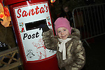 Vivian Tuite at the Arrival of Santa and the turning on of the Christmas Lights in Dunleer...(Photo credit should read Jenny Matthews www.newsfile.ie)....This Picture has been sent you under the conditions enclosed by:.Newsfile Ltd..The Studio,.Millmount Abbey,.Drogheda,.Co Meath..Ireland..Tel: +353(0)41-9871240.Fax: +353(0)41-9871260.GSM: +353(0)86-2500958.email: pictures@newsfile.ie.www.newsfile.ie.